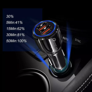 30W Car Charger Fast Charger Sri Lanka 2